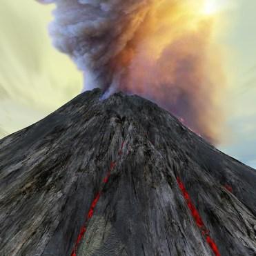 Volcan, Banque de l'image