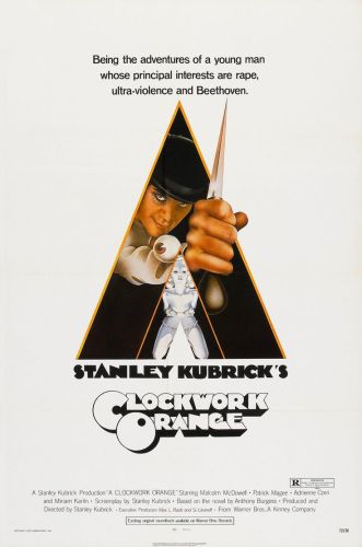 Orange Mécanique, 1972, Stanley Kubrick