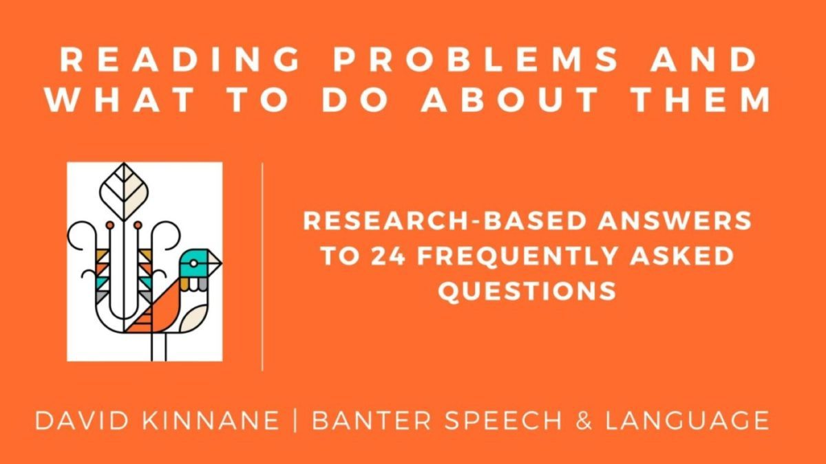 Reading Problems and What to do About Them. Research-based Answers to 24 Frequently Asked Questions.