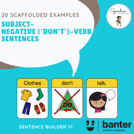 Subject-Negative (Don't)-Verb Sentences