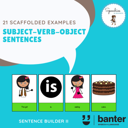 Subject-Verb-Object Sentences