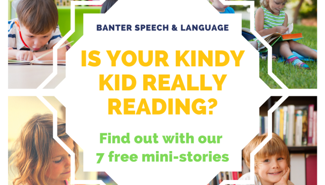 Is your kindy kid really reading