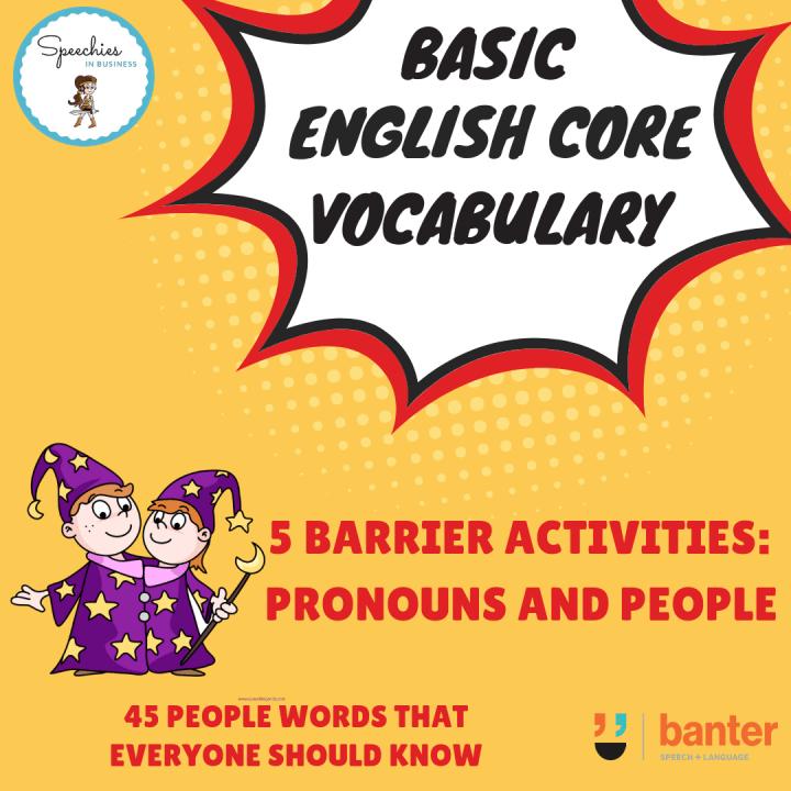 Pronouns Barrier Activity
