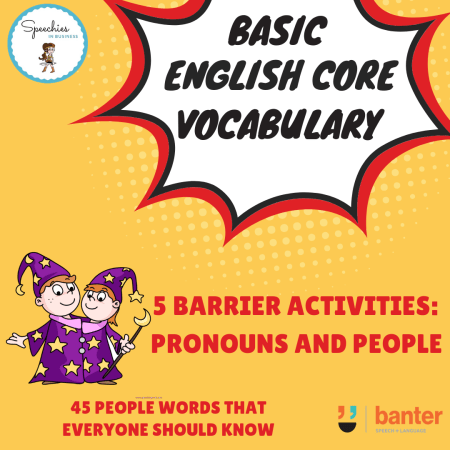 Pronouns Barrier Activity