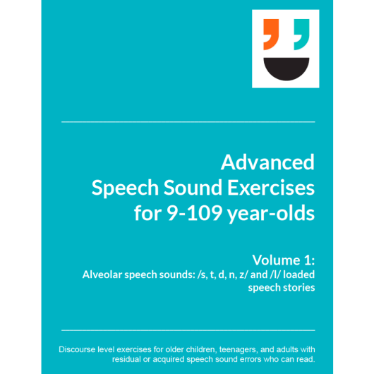 Advanced Speech Sound Exercises Alveolar and l