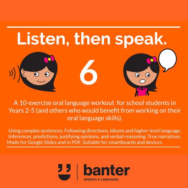 Listen then speak 6