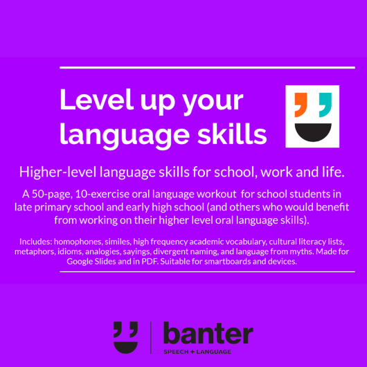 Level up your language skills