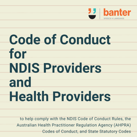 Code of Conduct for NDIS Providers and Health Providers