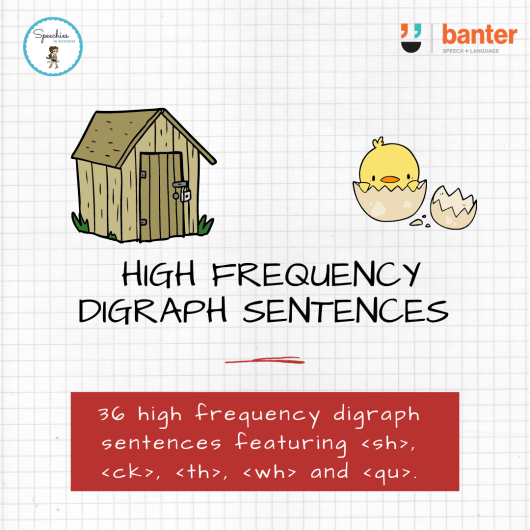 High Frequency Digraph Sentences