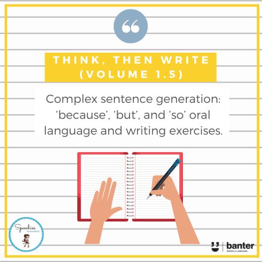 Think then Write Volume 1.5