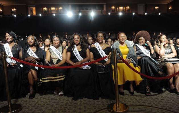 Previous Miss Botswana . (Pic:MONIRUL BHUIYAN/PRESS PHOTO)