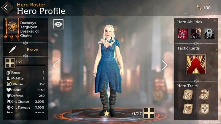perfil de daenerys targaryen en Game of Thrones Beyond the Wall