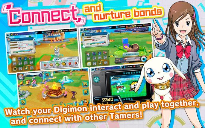 Digimon ReArise conecta con otros tamers y haz crecer tus digimons