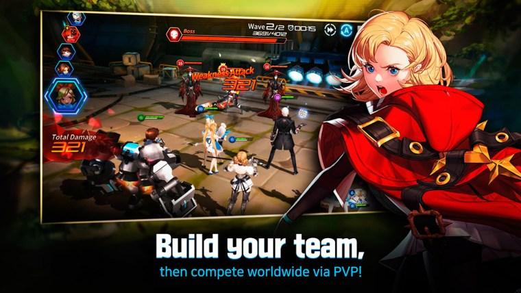 crea tu propio equipo en Gate Six Cyber Persona