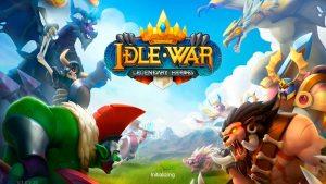 Portada del juego Idle War: Legendary Heroes