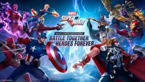 Portada del juego Marvel Super War