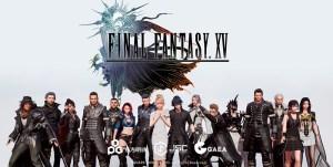 Portada del juego Final Fantasy XV