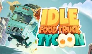 Portada del juego Idle Food Truck Tycoon