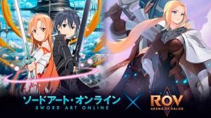 Sword Art Online en Arena of Valor