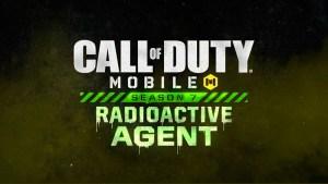 Pase de Batalla Agente Radiactivo en Call of Duty Mobile