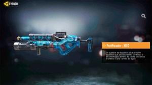 Arma Purificador H2O en Call of Duty Mobile