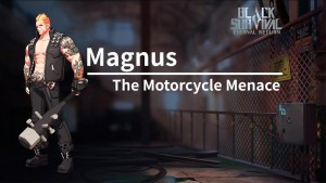 Magnus en Eternal Return: Black Survival
