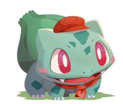 pokémon café mix bulbasaur