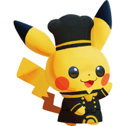 pokémon café mix pikachu superchef