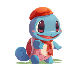 pokémon café mix squirtle