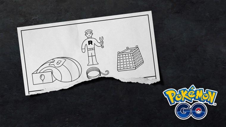 pokémon go team rocket papel recorte