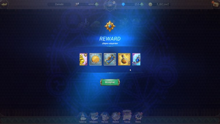 the seven deadly sins cofre secreto con un código recompensas