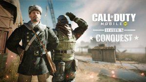 Pase de batalla Conquista en Call of Duty Mobile