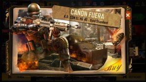 Arma HG40 Gold Standard en Call of Duty Mobile