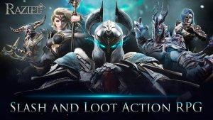 Portada del juego Raziel: Dungeon Arena