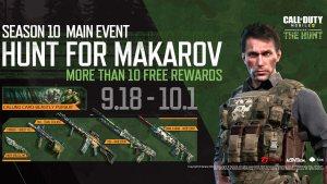 Evento Caceria a Makarov en Call of Duty Mobile