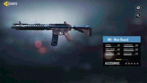Arma M4 Nine Round en Call of Duty Mobile
