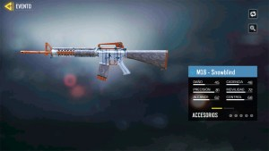 M16 Snowblind en Call of Duty Mobile