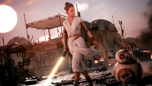 Rey en Battlefront 2