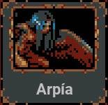 Arpía en Loop Hero
