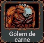 Gólem de carne en Loop Hero