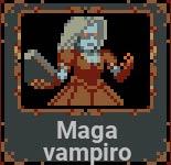 Maga vampiro en Loop Hero