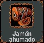 Jamón ahumado en Loop Hero