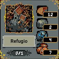 Refugio en Loop Hero
