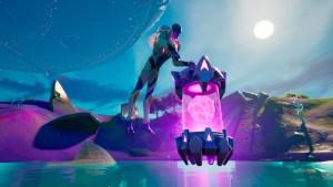 Artefacto alienígena en Fortnite