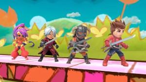 Dante Mii en Super Smash Bros Ultimate