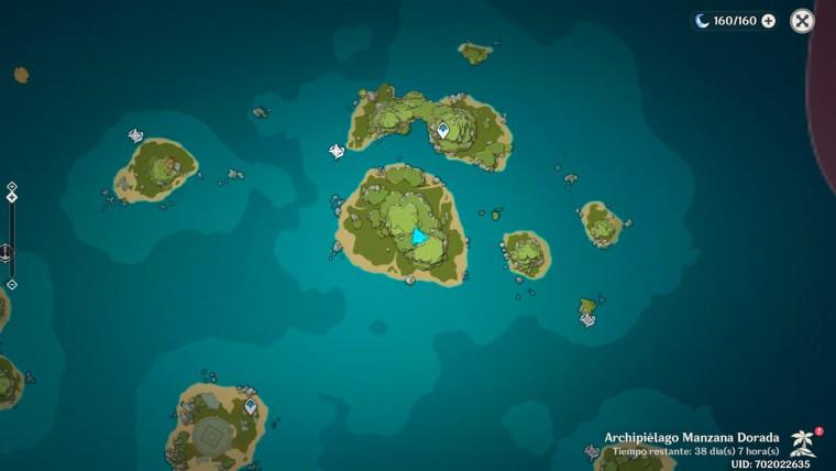 genshin impact al otro lado de la isla y el mar - sur de las islas hermanas