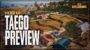 Mapa Taego en PUBG
