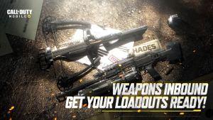 Hades y ballesta en Call of Duty Mobile