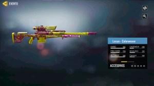 Arma Locus Colorweave en Call of Duty Mobile