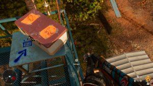 Cofre con criptogramas de Parque Serpentino en Far Cry 6